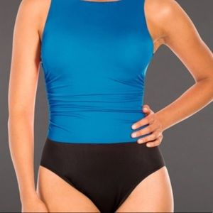 Miraclesuit 10DDD one piece lagoon blue